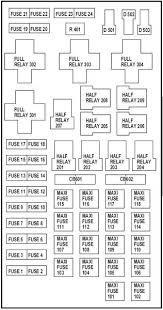 nl_3231] 2003 f150 fuse box 03 Ford F150 Fuse Box Diagram 13 F150 Fuse Box Diagram