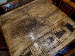decoupage ideas for furniture. How To: Aged Paper Decoupage DIY Table Top Refinish Ideas For Furniture C