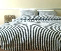 ticking stripe bedding navy stripe duvet cover classic ticking stripe inspiration navy stripe duvet cover king