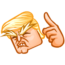 Image result for crazy trump clipart
