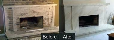 wonderful tiling a brick fireplace tile over brick fireplace home painting and faux finish specialists painting