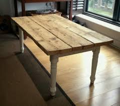 reclaimed scaffold board farmhouse coffee table shabby chic