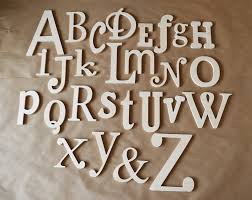 photo 8 of 9 unfinished wooden alphabet set wooden letter alphabet wall abc wall