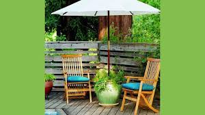 table umbrella stand. maybe you already have a nice patio table and need additional seating or perhaps balcony too small for table. if either of these are the case, umbrella stand