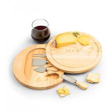 personalized keepsake gifts engraved cheese board with tools