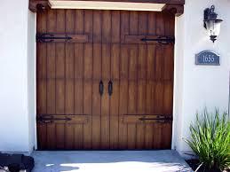faux garage doors
