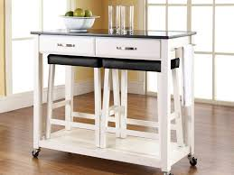 Kitchen Island Table On Wheels Kitchen Carts Winsome Butcher Block Kitchen Island Cart With Drop