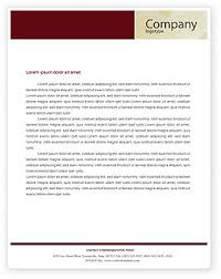 Business Consulting Session Letterhead Template Layout For