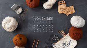 Free Downloadable November Calendar ...