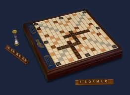 Wooden Board Games Canada Buy The Scrabble Deluxe Wood Premium Edition In Canada 3