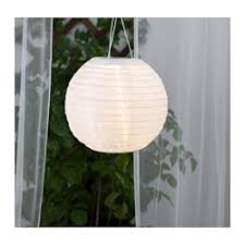 ikea exterior lighting. SOLVINDEN Solar-powered Pendant Lamp, Globe White Ikea Exterior Lighting