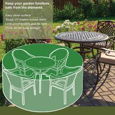 4 seater round furniture set cover