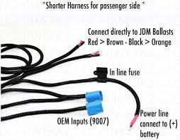 subaru jdm sti hid wiring harness 02 03 bug eye wire zoom