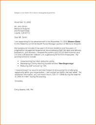 5 Nurse Manager Cover Letter Quote Templates