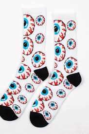 <b>Носки МИШКА Keep Watch</b> Pattern Socks (White, O/S) | www.gt-a.ru