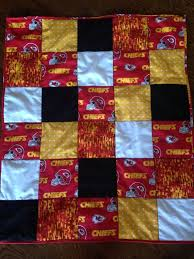 kansas city chiefs quilt baby blanket