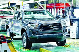 Toyota pickup plant feels the squeeze