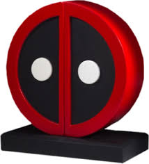 Deadpool Logo Gentle Giant Bookends | eBay