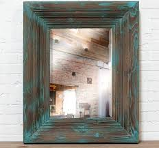 distressed wood framed mirror large wood framed wall mirror decorative wall mirrors