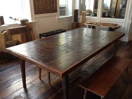 reclaimed wood furniture plans. Magnificent Reclaimed Wood Furniture Dining Table Within Room Tables Plans 4