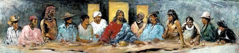 for larger view here the last supper with twelve tribes was painted in the