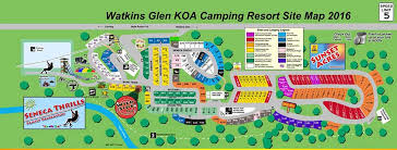 watkins glen koa cground site map