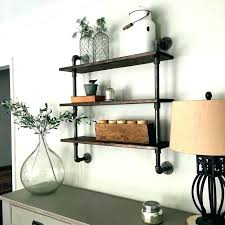 industrial pipe shelf galvanized pipe shelf plumbing pipe bookcase galvanized pipe shelves bold inspiration how make
