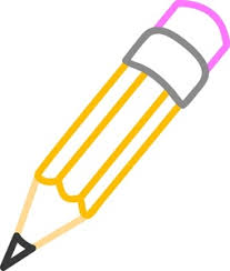 pencil drawing of a pencil. pencil clipart image: drawing of a yellow worn down by much use doing homework p