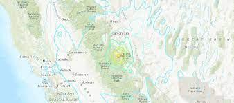 Earthquakes hit area around California ...