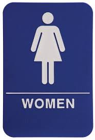 Image Braille Restroom Womens Restroom Sign Adacompliant Bathroom Door Sign For Offices Businesses And Amazoncom Amazoncom Womens Restroom Sign Adacompliant Bathroom Door Sign