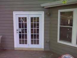 exterior single french doors. Image Of: Exterior-patio-doors-install Exterior Single French Doors