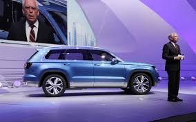 Volkswagen CrossBlue Previews Future SUV - Automobile Magazine