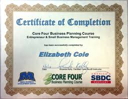 Core Four Business Planning Course Entrepreneur And Small Business M