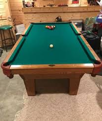 8 ft olhausen pool table