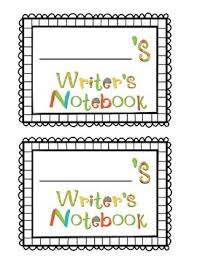 writer s notebook cover page writer s notebook cover page