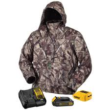 Dewalt Dchj062 20v True Timber Htc Camo Heated Jacket Kit With Battery Small