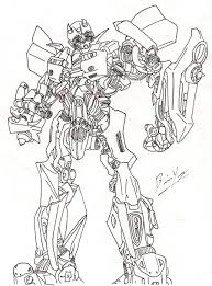 Transformers Bumblebee Drawing At Getdrawings Com Free For And