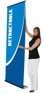 Retractable Display Stands Durable Banner Stands Retractable Banner Stands Silver Star 69
