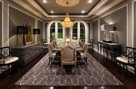 dining room colors brown. Stunning Mediterranean Style Dining Room In Gray [Design: Jennifer Bevan Interiors] Colors Brown