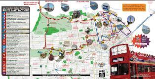 san francisco deluxe sightseeing tour routes