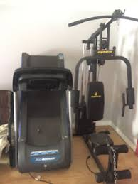 treadmill and work bench