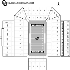 Ou Football Stadium Detailed Seating Chart Best Picture Of