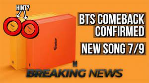 BTS NEW SONG 'Permission To Dance ...