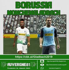 Pro evolution soccer 2021 players' database. Pes 2013 Gladbach Home And Away 2019 2020 Kits By Auvergne81 Pes Patch