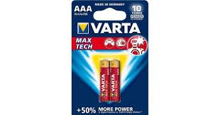 Продажа щелочных <b>батареек VARTA Max Tech</b> Alkaline AAA ...