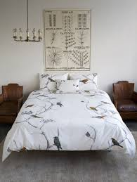 minimalist and fresh duvet set design for bedding accessories