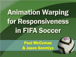 Ppt Animation Warping For Responsiveness In Fifa Soccer Powerpoint
