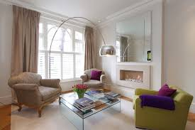 london mirrors over fireplaces living room contemporary with lime green armchair rectangular area rug sets
