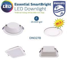Đèn downlight âm trần Led Philips DN027B 7W LED6 D90 RD