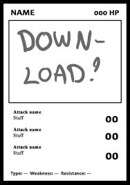 free trading card template trading card template by nightmarehound on deviantart